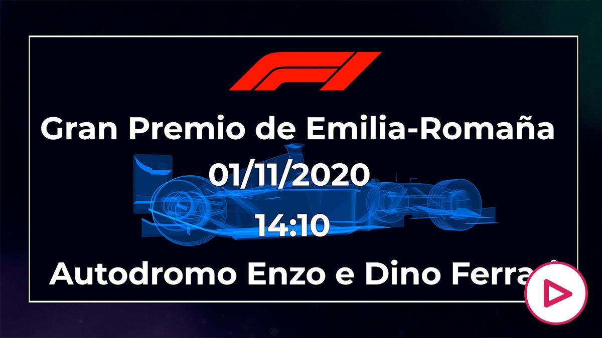 GP de Emilia-Romaña de Fórmula 1. Horario y cómo ver la carrera de Fórmula 1 en directo.