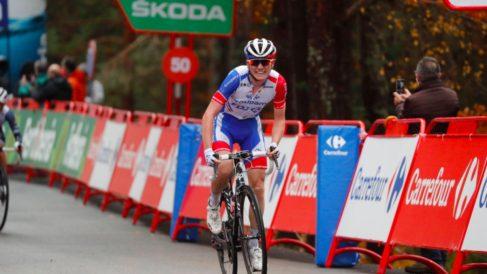 Gaudu ganó la undécima etapa de la Vuelta.