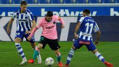 Liga Santander 2020-2021 | Alavés – Barcelona, en directo. (AFP)