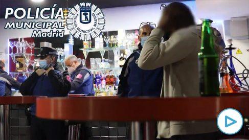 La Policía interviene un pub en Ciudad Lineal
