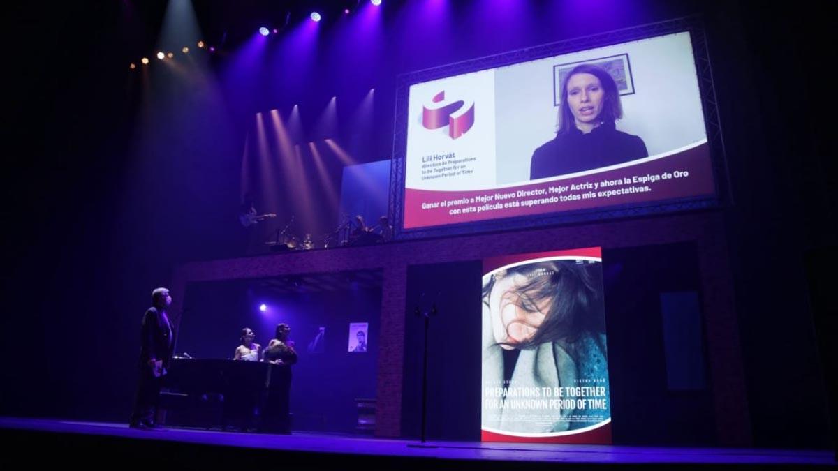Gala de clausura de la Seminci 2020. Foto: EP