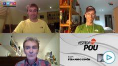 Pedro Simón en el programa de los hermanos Pou en Facebook.