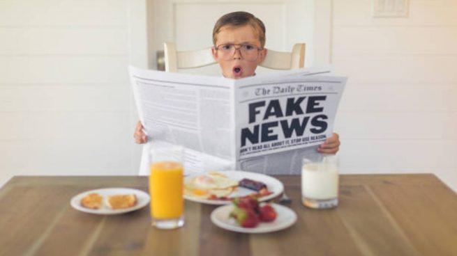 niños fake news