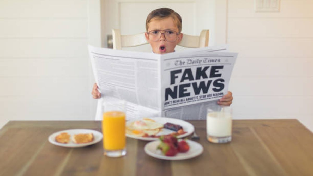 De qué modo los niños pueden identificar las informaciones falsas de internet