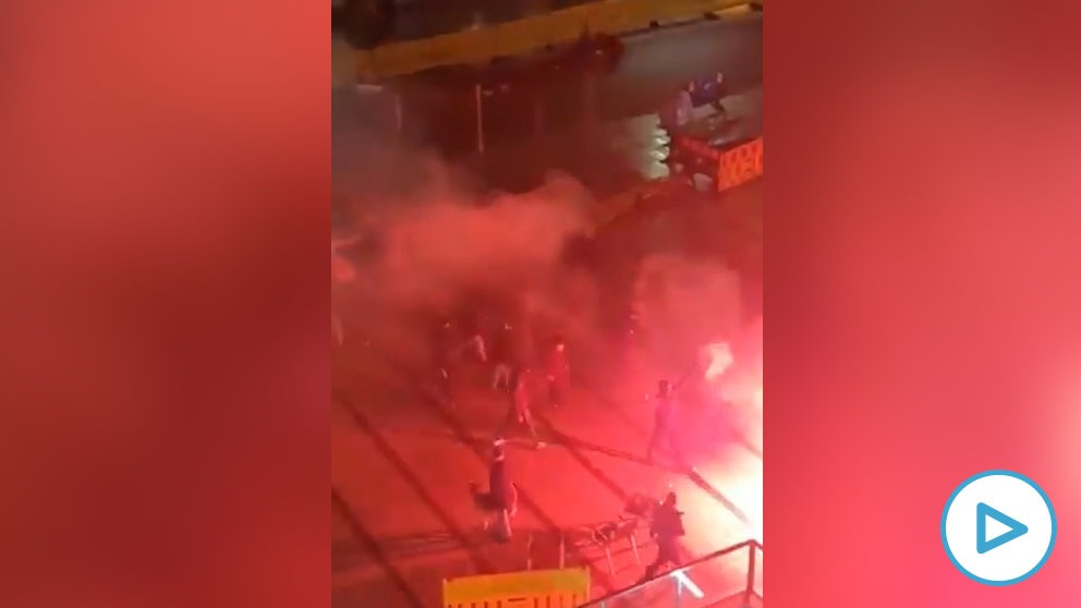 Actos vandálicos en León.