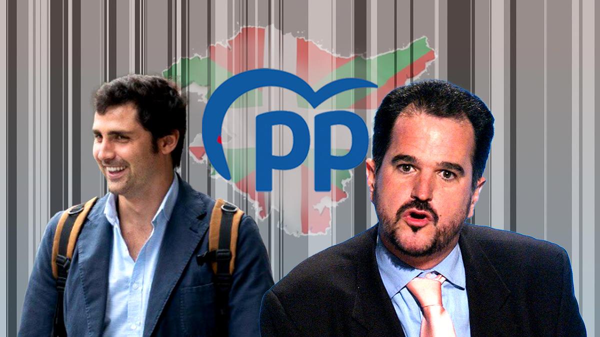 Mikel Lezama y Carlos Iturgaiz