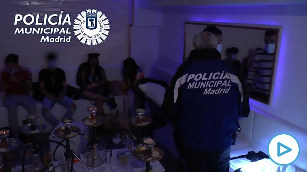 Policía de Madrid intervino anoche en 81 fiestas privadas y 18 botellones