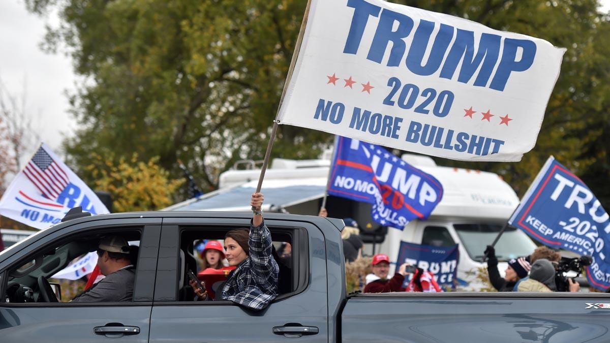 Votantes de Trump durante un mítin. Foto: EP