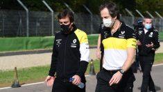 Fernando Alonso en Imola durante el Gran Premio de Emilia-Romaña. (AFP)