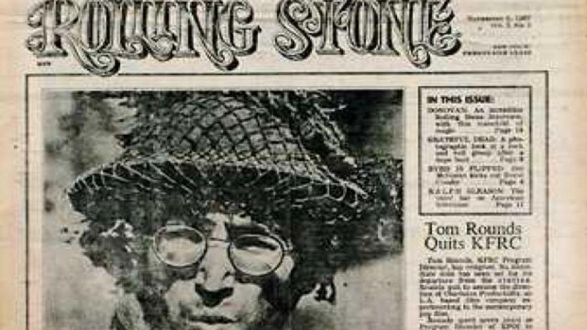 El 9 de noviembre de 1967 sale el primer número de la revista Rolling Stone