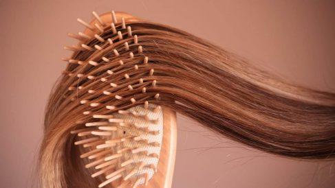 Los cepillos acumulan pelos y otras suciedades con su uso