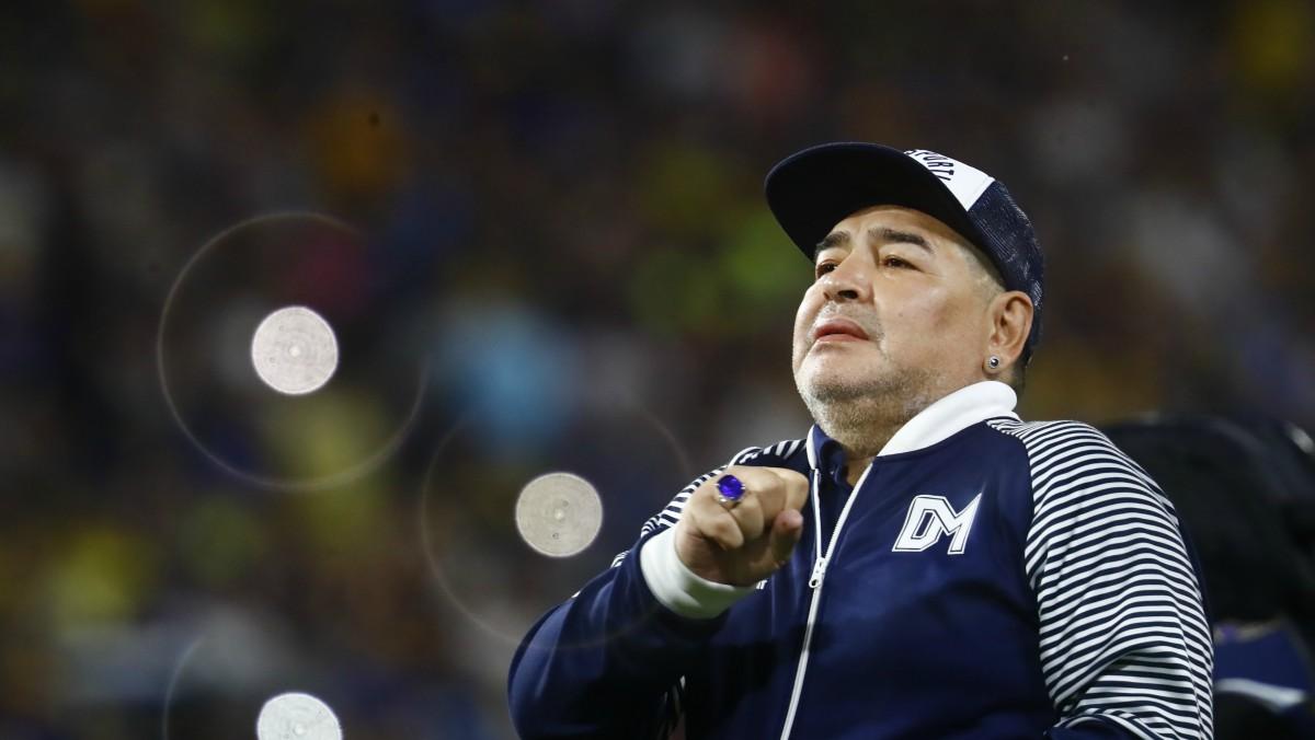 Diego Armando Maradona, en una imagen de archivo. (Getty)