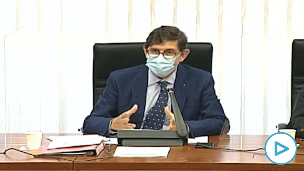 El consejero de Salud de Murcia, Manuel Villegas.