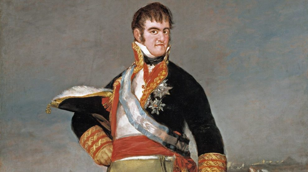 Retrato del rey Fernando VII