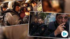 Fotogramas de la serie 'Antidisturbios' de Movistar +