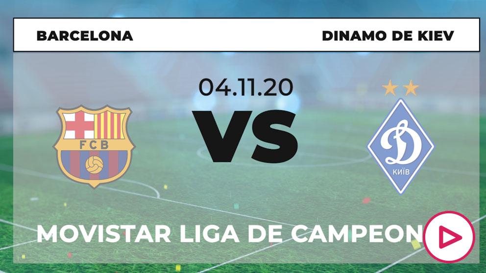 Barcelona – Dinamo de Kiev: partido de la Champions League