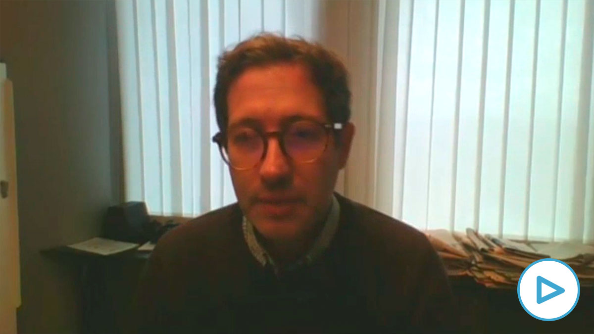 Domènec Ruiz, eurodiputado del PSOE.