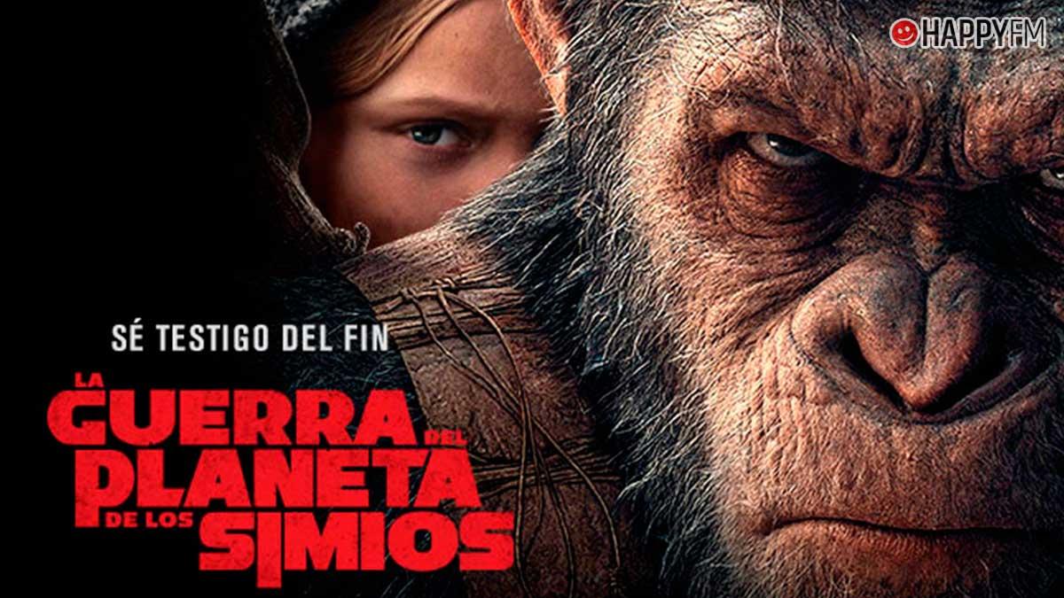 La guerra del planeta de los simios: reparto de la película que emite Telecinco