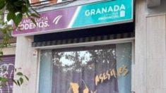 La sede de Podemos en Granada.