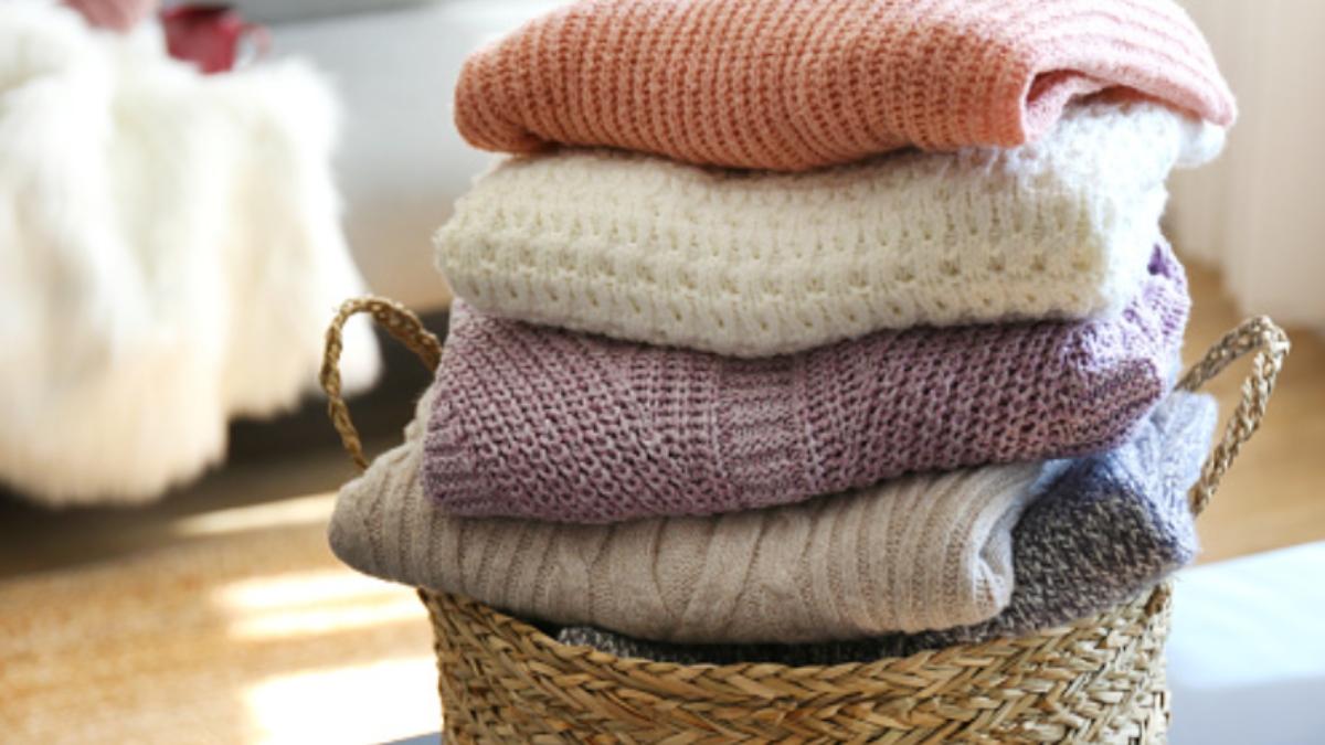 Pasos para eliminar las polillas de la ropa fácilmente
