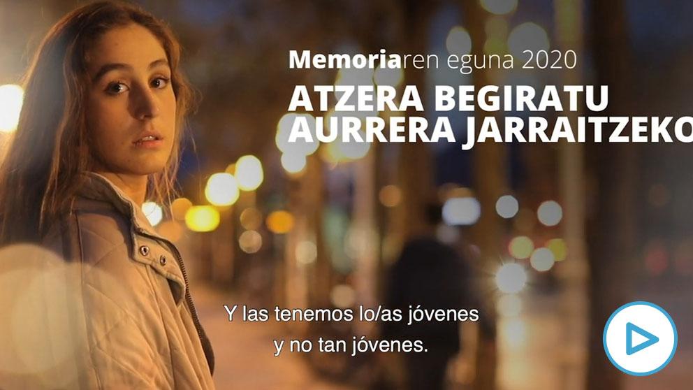El vídeo del Gobierno de Urkullu para el 'Día de la Memoria' mantiene su equidistancia entre víctimas y verdugos.