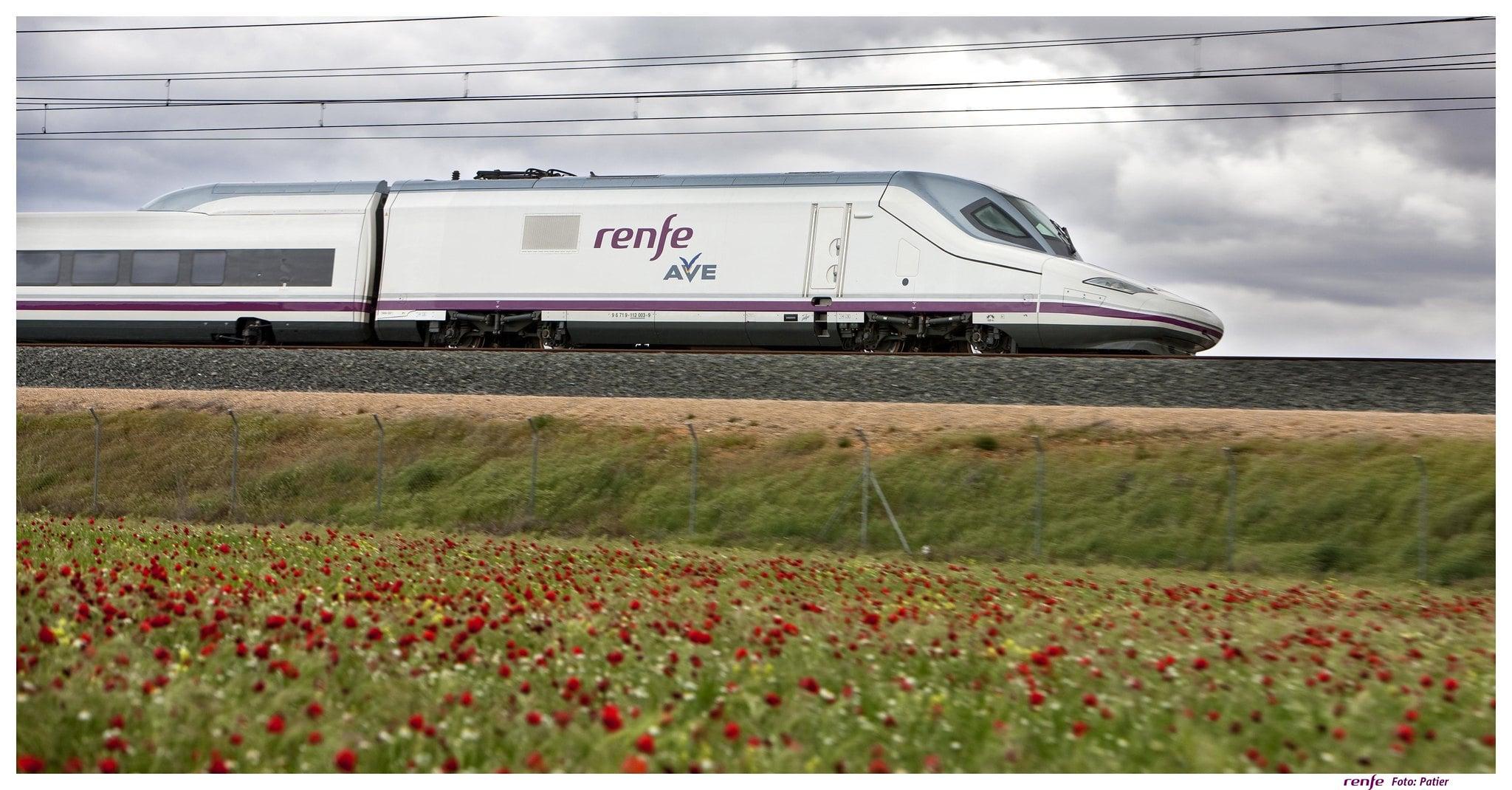 El número de pasajeros de Renfe bajó un 54% en febrero respecto a 2020