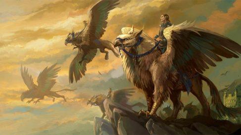 El Grifo, animal mitológico