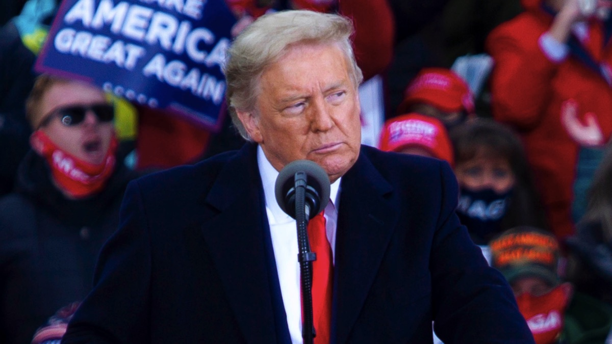 El presidente de Estados Unidos, Donald Trump, durante la campaña electoral. (Foto: EP)