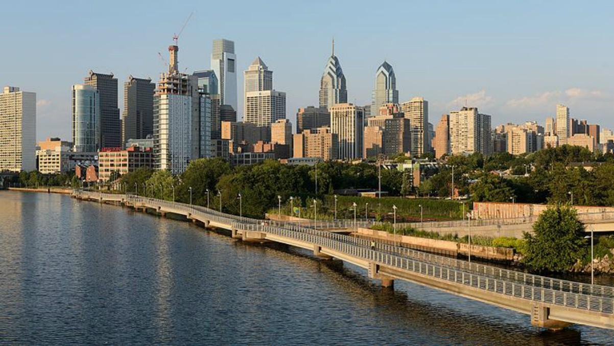 La ciudad de Filadelfia.