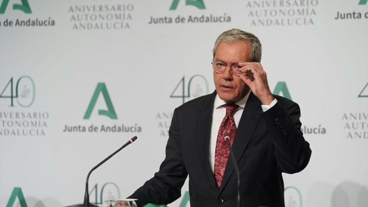 Rogelio Velasco, consejero de Transformación Económica, Industria, Conocimiento y Universidades.