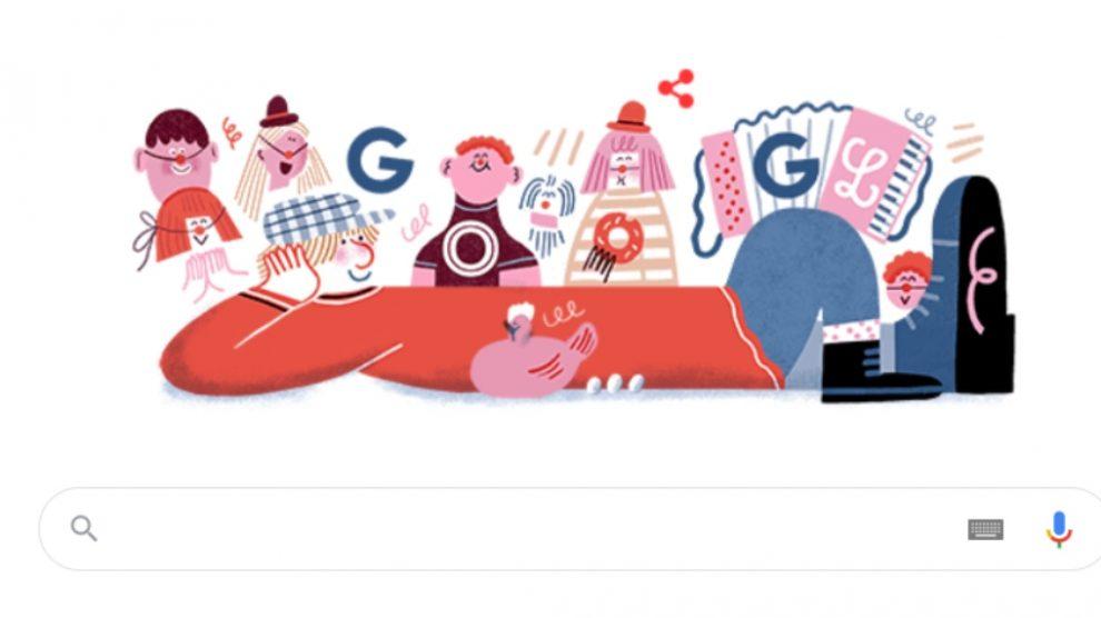 Miliki es el protagonista del Doodle de Google en el día del 91º aniversario de su nacimiento