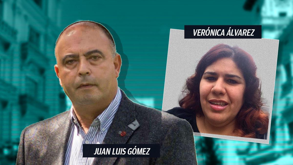 El consejero delegado de Cárnicas Joselito, Juan Luis Gómez, y la venezolana Verónica Álvarez Álvarez, que recibió los pagos.