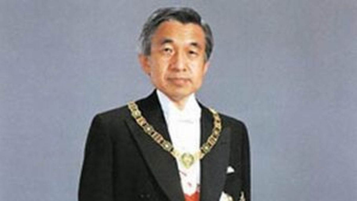El 12 de noviembre de 1990, el príncipe heredero Akihito, es coronado emperador de Japón