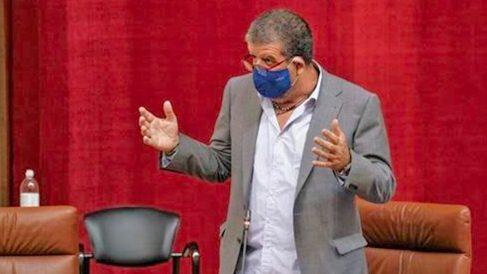 Nacho Molina, diputado no adscrito del Parlamento de Andalucía.