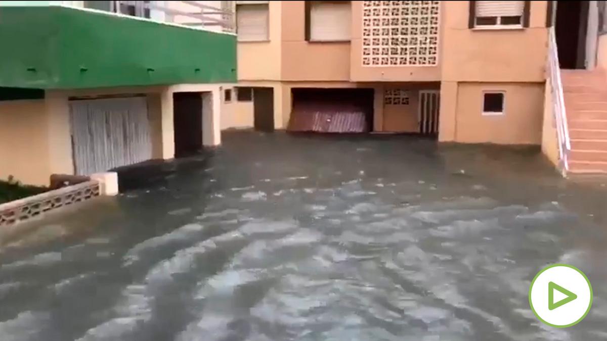 La gota fría deja grandes inundaciones en Valencia y Alicante