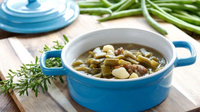 Receta de guiso de judías verdes con patatas