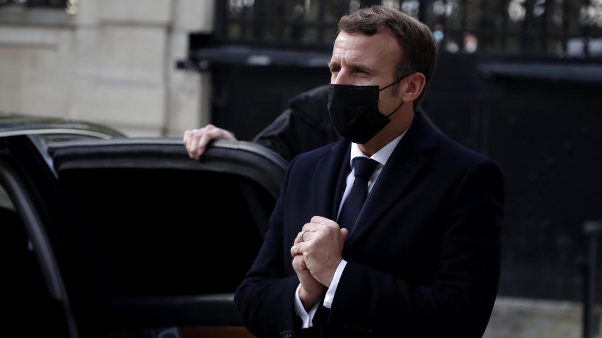 Emmanuel Macron, presidente de Francia. Foto: AFP
