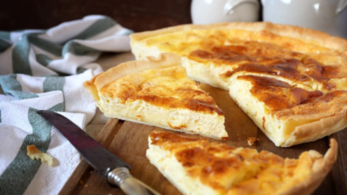 Tarta de queso en hojaldre fácil de preparar