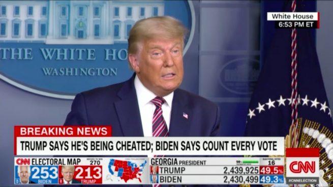 Donald Trump cadenas televisión