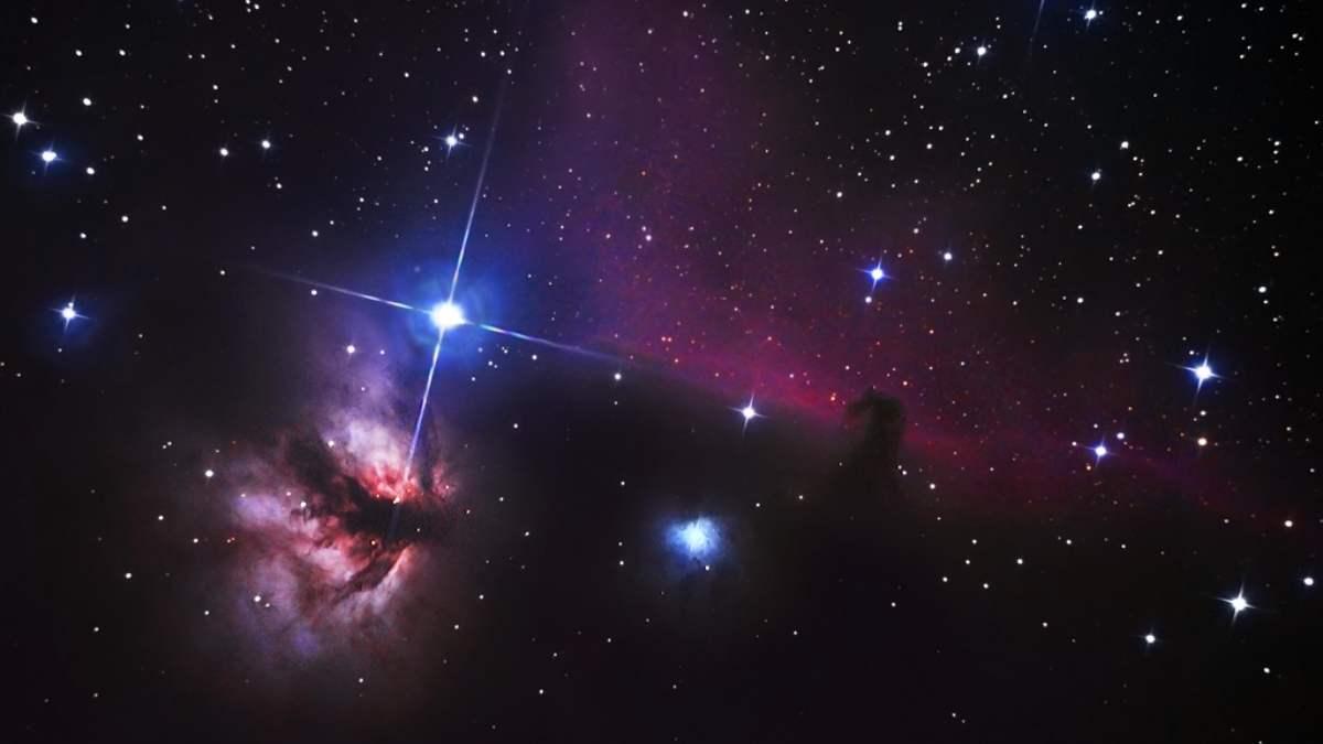 Astronomía, nebulosas