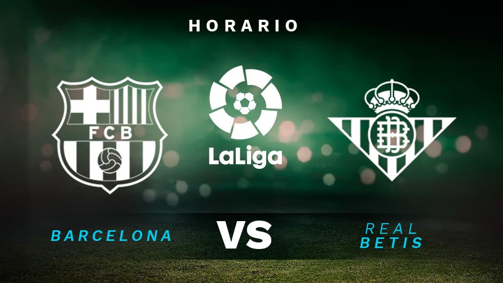 Liga Santander 2020-2021: Barcelona – Betis| Horario del partido de fútbol de la Liga Santander.