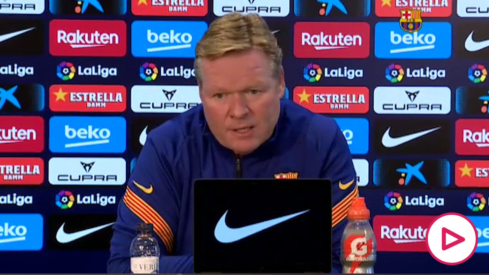 Koeman: «Messi sigue siendo decisivo».