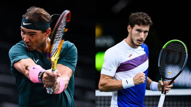 Rafa Nadal – Carreño: horario y dónde ver en directo por TV el partido de los cuartos del Masters 1000 París-Bercy hoy