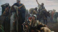 'La expulsión de os moriscos' 1894. Gabriel Puig Roda