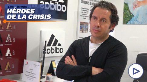 Javier Sastre, propietario de Rótulos SG.