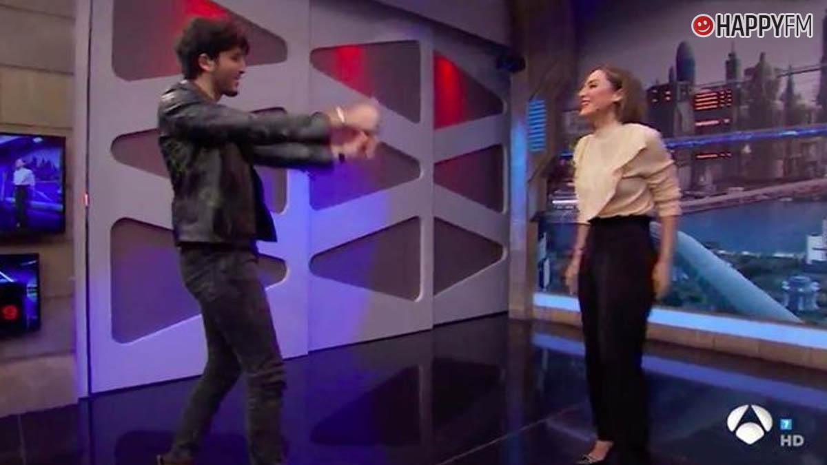 Tamara Falcó y Sebastián Yatra en 'El Hormiguero'