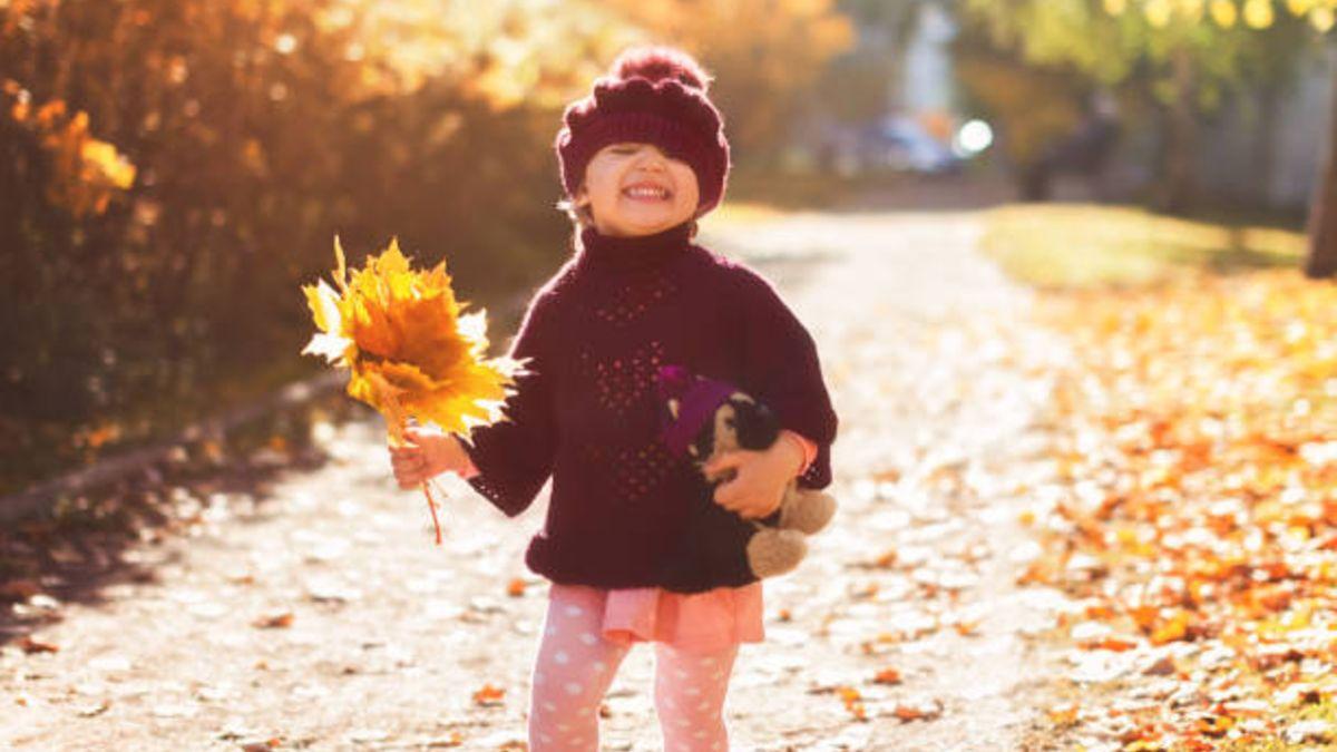 Pasos para que los niños decoren las ventanas con hojas de otoño
