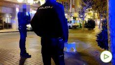 Policia multa a una señora