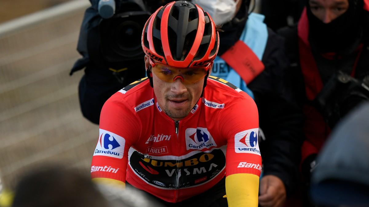 Primoz Roglic reeditó su triunfo en la Vuelta a España. (AFP)