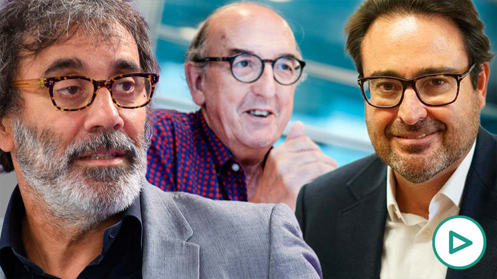 Tatxo Benet, Jaume Roures y David Madí.
